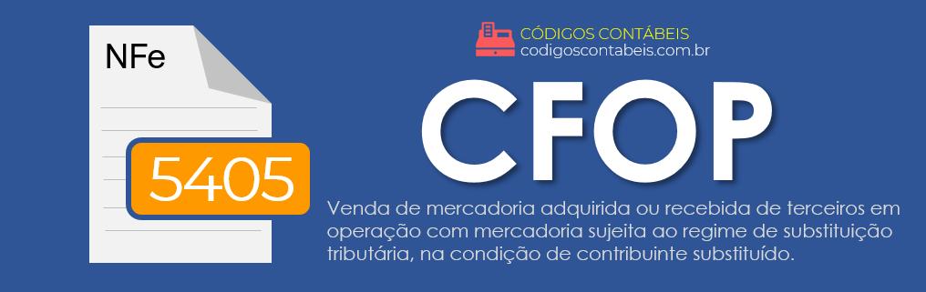 CFOP 5405