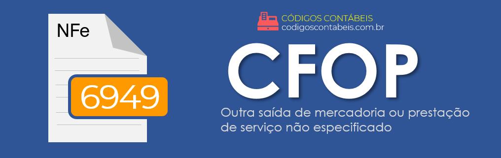 CFOP 6949