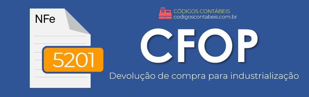 CFOP 5201