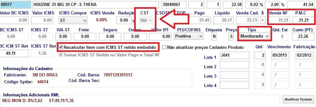 exemplo CST 560