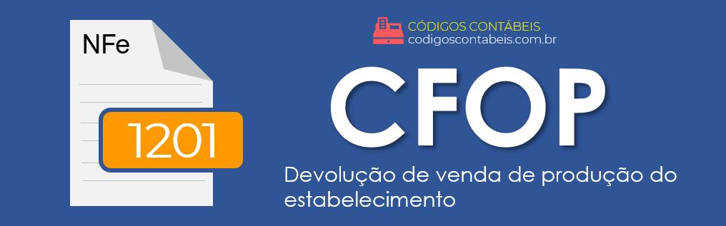 CFOP 1201