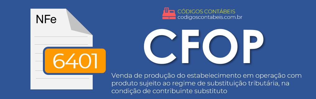 CFOP 6401