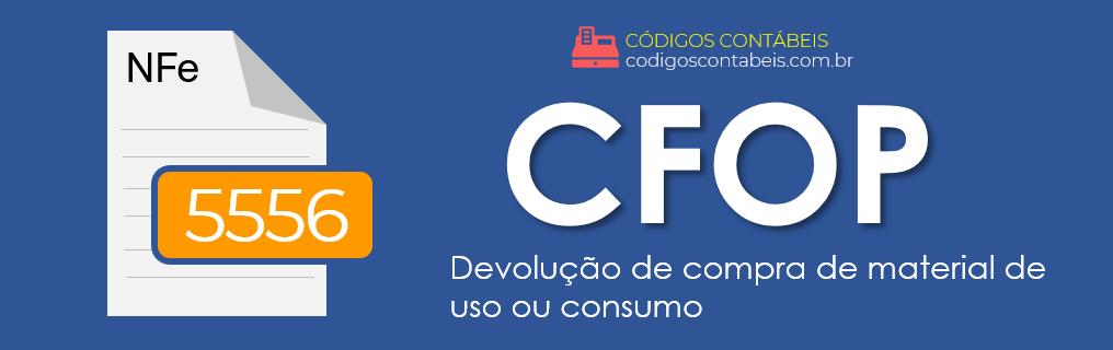 CFOP 5556