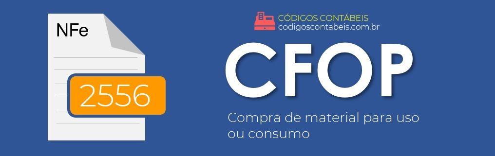 CFOP 2556